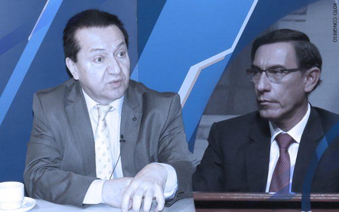 Luis Benavente - Martín Vizcarra (Foto: Congreso)