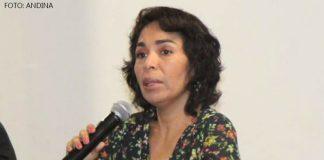 Patricia Balbuena (Foto :Andina)