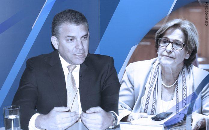 Rafael Vela - Susana Villarán (Foto: Congreso)