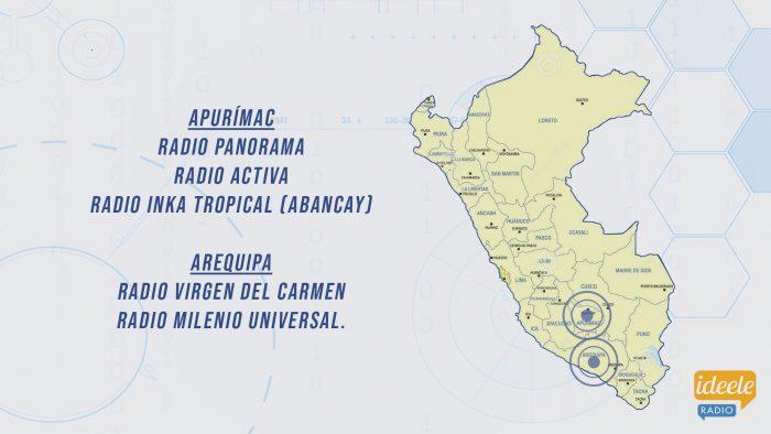 Ideeleradio - Apurímac - Arequipa