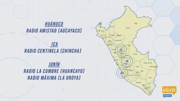 Ideeleradio - Huánuco - Ica - Junín