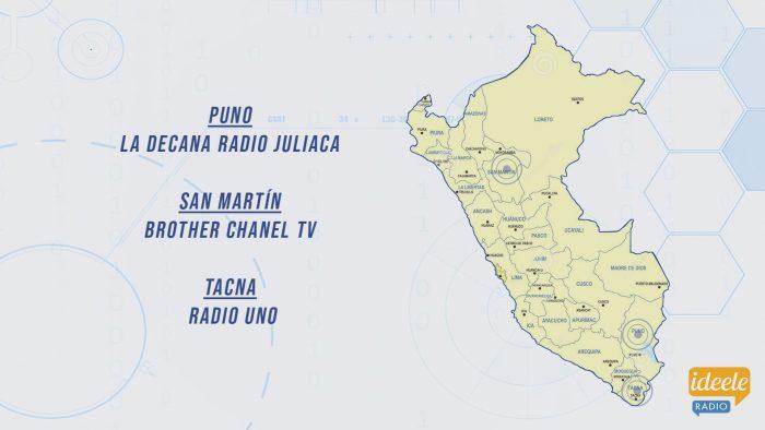 Ideeleradio - Puno - San Martín - Tacna