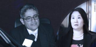 José Domingo Pérez - Keiko Fujimori (Foto: Congreso)