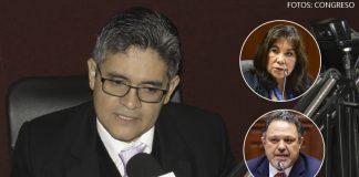 José Domingo Pérez - Martha Chávez - Carlos Mesía (Foto: Congreso)