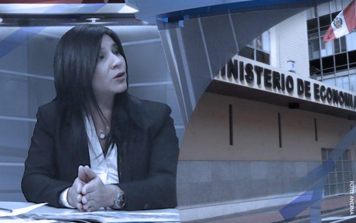 Silvana Carrión - Ministerio de Economía (Foto: Andina)