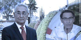 Oswaldo Zegarra - Martín Vizcarra (Foto: Sunedu y Presidencia)