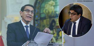 Martín Vizcarra - Martín Benavides (Fotos: -Presidencia)