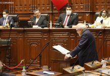 Pedro Cateriano - Mesa Directiva (Foto: Congreso)